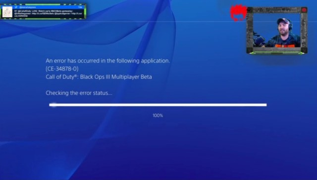 Count on some Call of Duty: Black Ops 3 beta problems.
