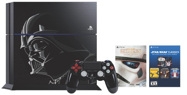 The new Darth Vader PS4 and controller.