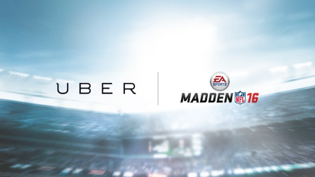 Get a free Madden 16 copy from Uber.