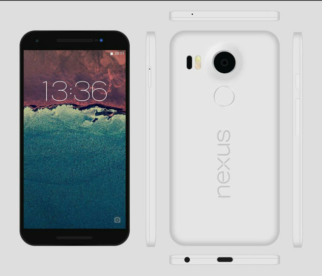 Still The Rumors of The Doublet of Google: Nexus 5.7 Inch Huawei and LG Nexus of 5.2