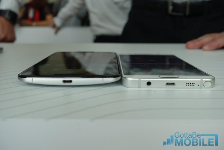 Note 5 vs Nexus 6: Specs