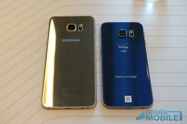Galaxy S6 Edge vs S6 Edge Plus: Design