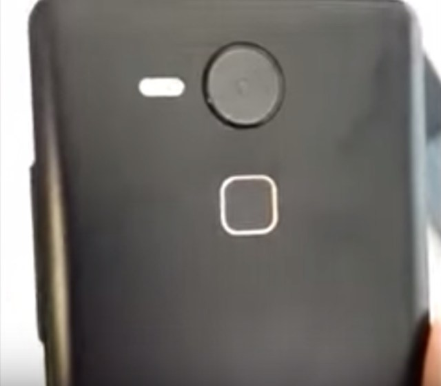 Reportedtly the back of the Nexus 6 (2015)