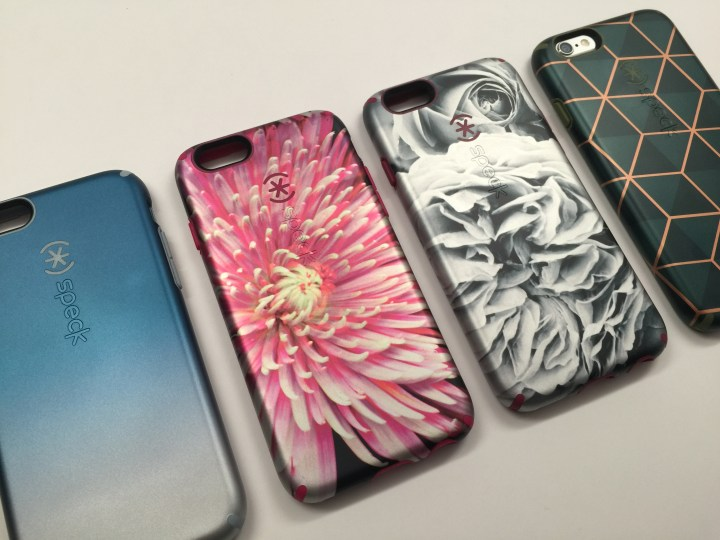 The Speck CandyShell Inked Luxury iPhone 6 cases.