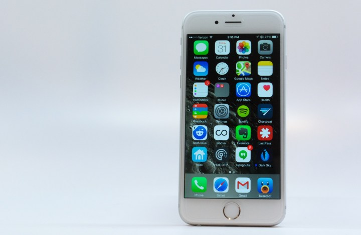 No Sapphire iPhone 6s Glass