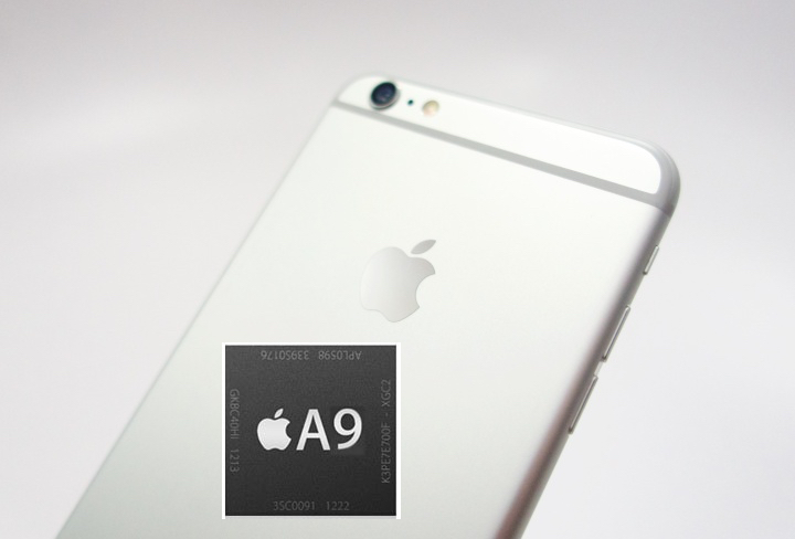 Upgraded Apple A9 Processor