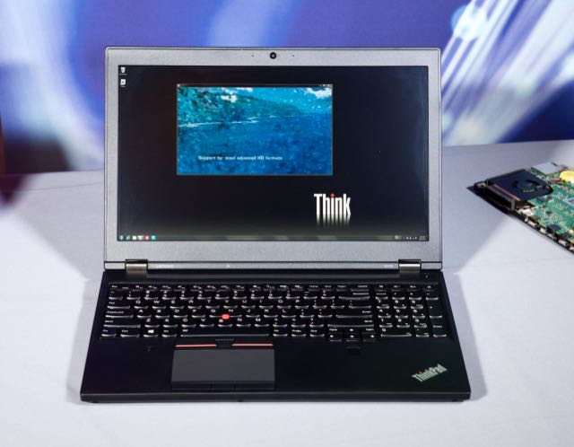 The Lenovo ThinkPad P50.