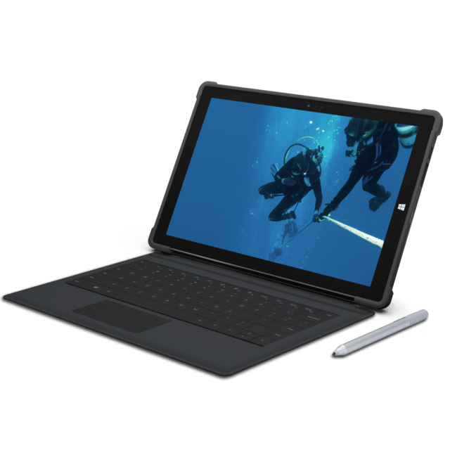 urban armor surface pro 3 case connected to type cover