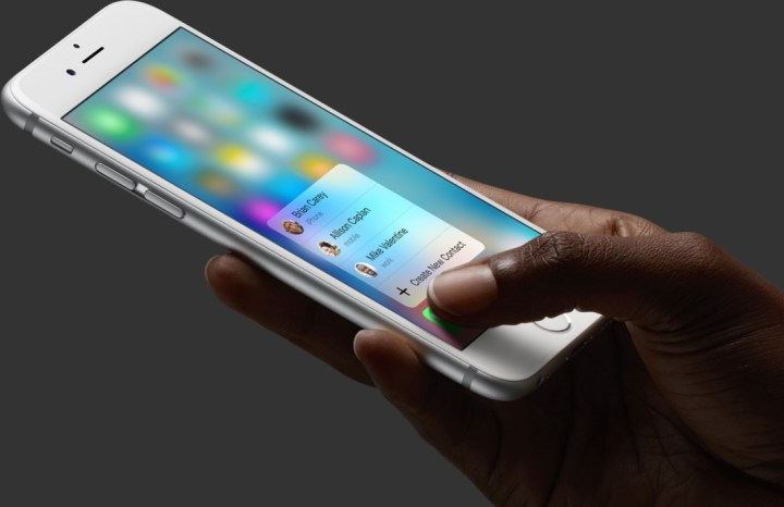 New iPhone Controls with 3D Touch
