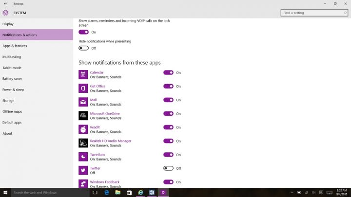 How to Stop Notifications in Windows 10 (8)