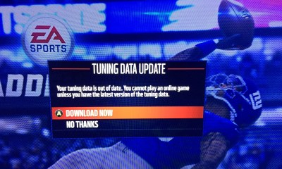 The Madden 16 tuning update arrived, and now a Madden 16 update is here to fix problems.