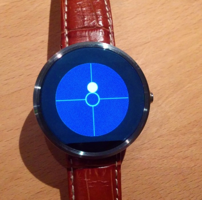 Bubble Level for Smartwatches