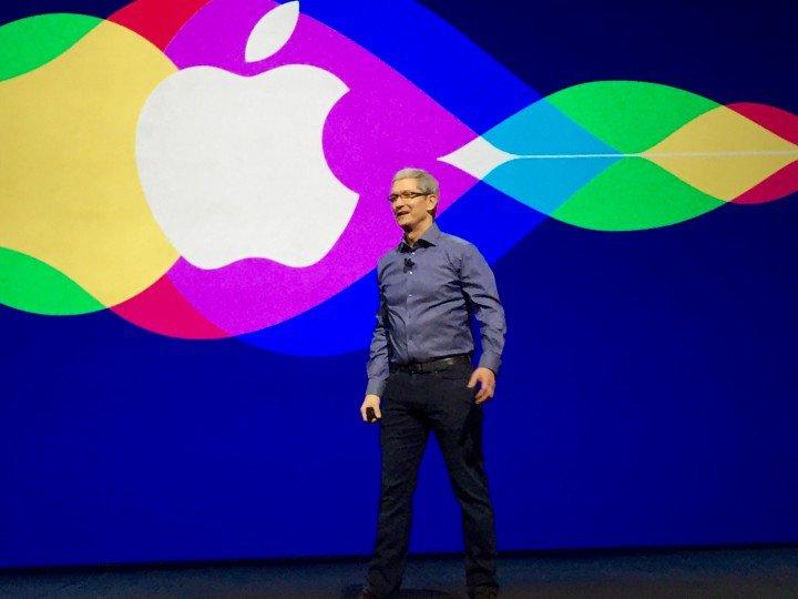 Titta på Tim Cook tillkännage iPhone 7 och iOS 10 släppdatum i Apple 2016 livestream.
