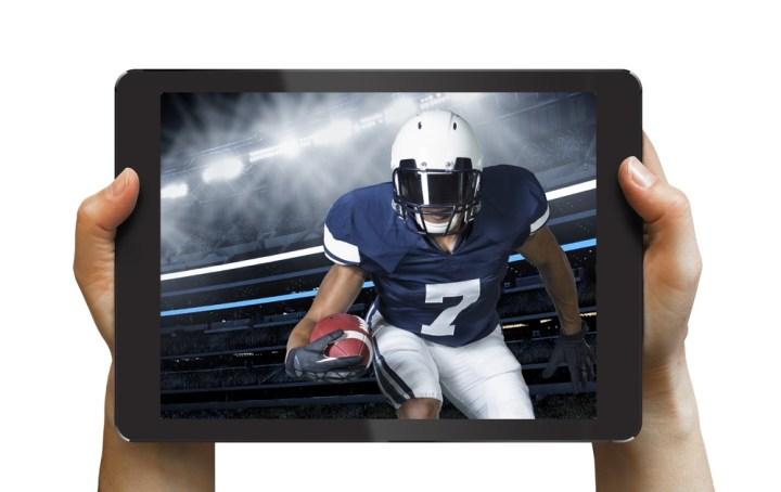 Watch NFL Football live on iPad.