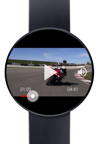 YouTube on Android Wear