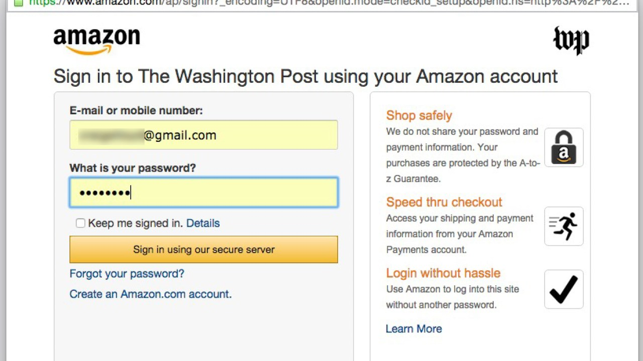 How to Get the Washington Post for Free with Amazon Prime