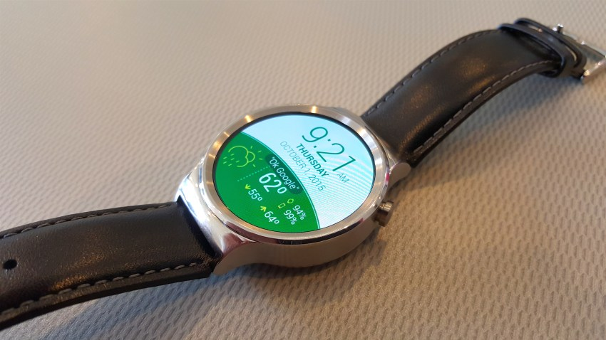 hawei watch side button