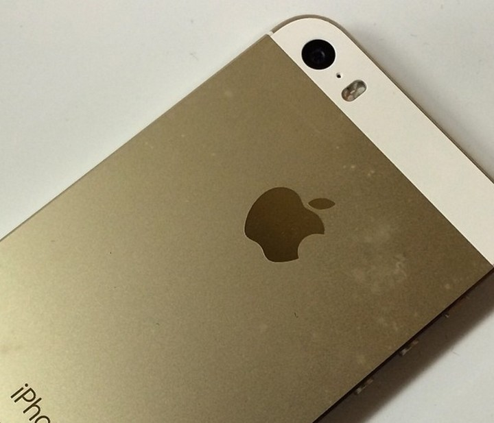 A gold iphone color option can show discoloration if not cleaned regularly.
