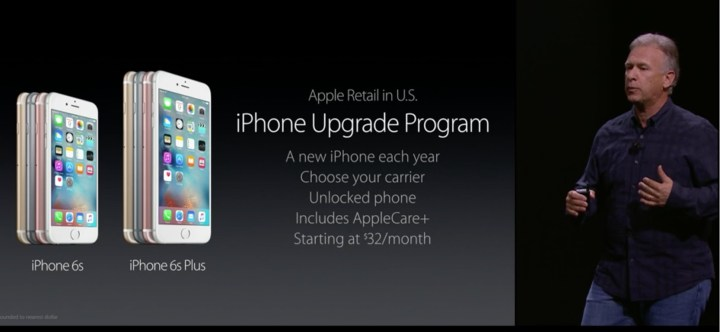 What you get with the iPhone Upgrade Plan.