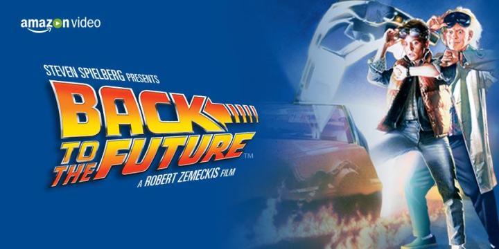 Amazon announces Back to the Future streaming on Amazon Prime Video.