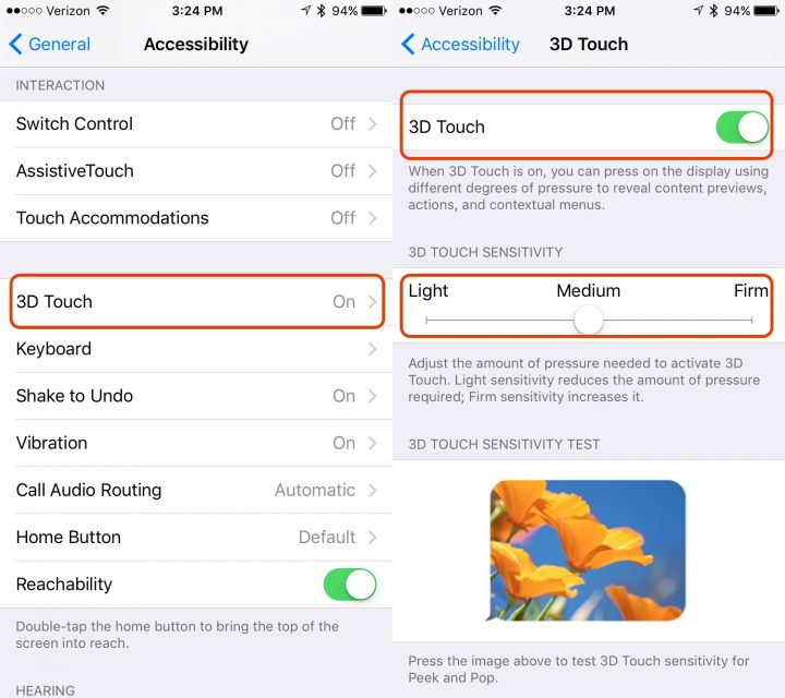 How To Change Sensitivity On Iphone