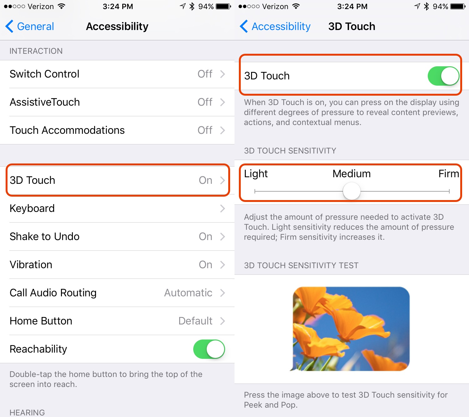 How To Use 3D Touch On IPhone 6s & IPhone 6s Plus