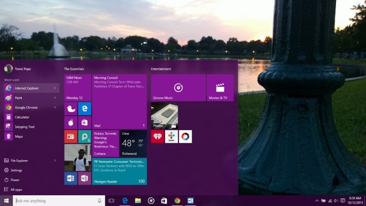 Microsoft Shows Features Coming In Next Windows 10 Update