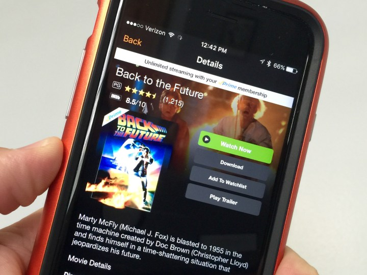 You can even download the movies to watch offline.