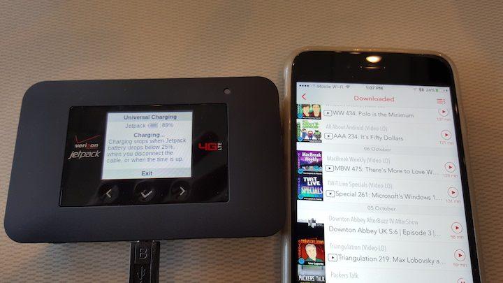 Verizon Jetpack 4G LTE Mobile Hotspot AC791L Universal Charging