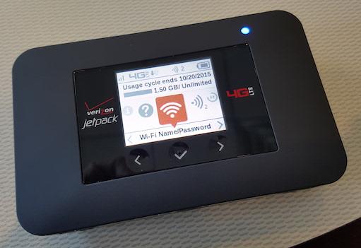 Verizon Jetpack 4G LTE Mobile Hotspot AC791L