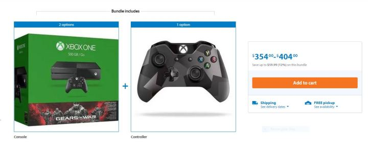 Wal-Mart Xbox One Deal