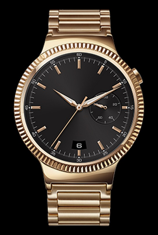 huawei watch rose gold