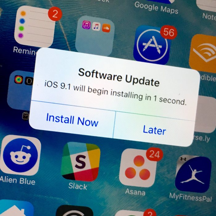 iOS 9.1 Bug Fixes for iOS 9 Problems