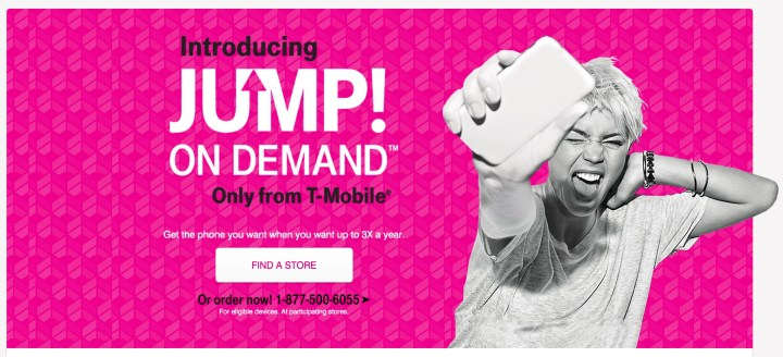 t-mobile jump on demand