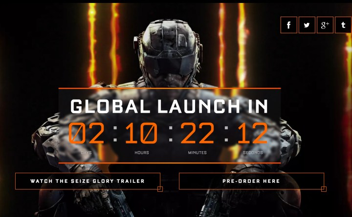 Call of Duty: Black Ops 3 Release Date