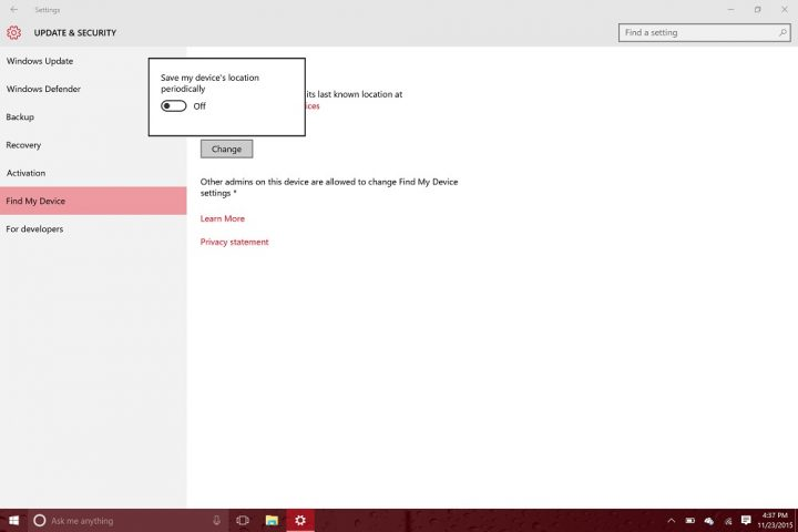 How to Find Your Lost WIndows 10 Device (7)