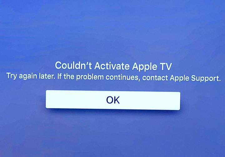 Look for help with new Apple TV problems.