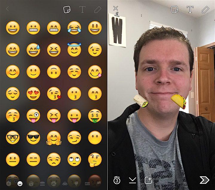 The November Snapchat Update adds new emoji options.