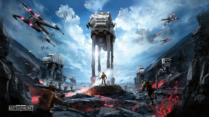 Star Wars- Battlefront gameplay