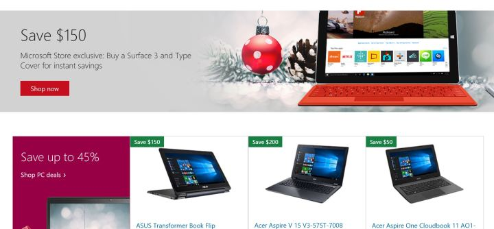 Surface Cyber Monday 2015