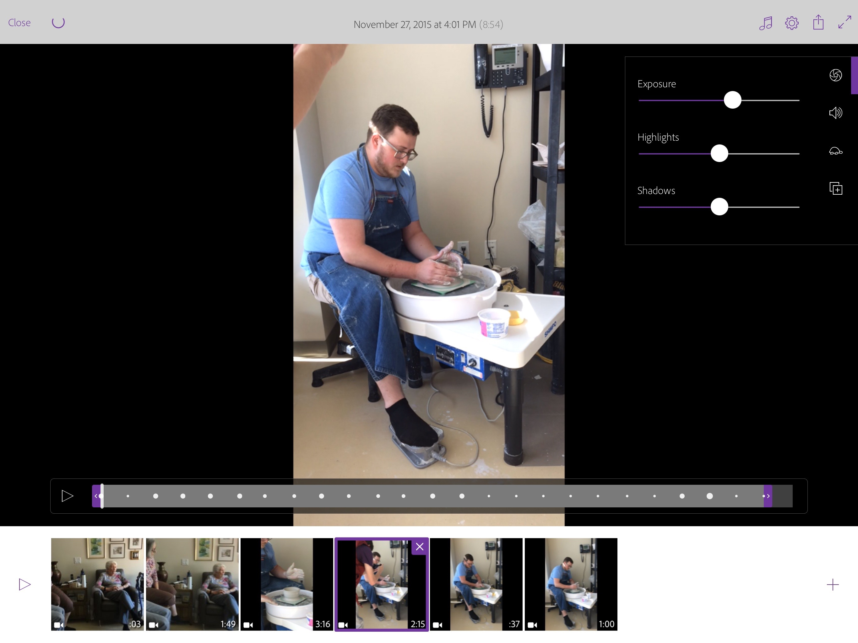 how to edit video on ipad pro