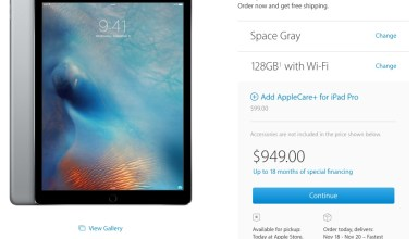 The iPad Pro release date is here with in-store pickup available.