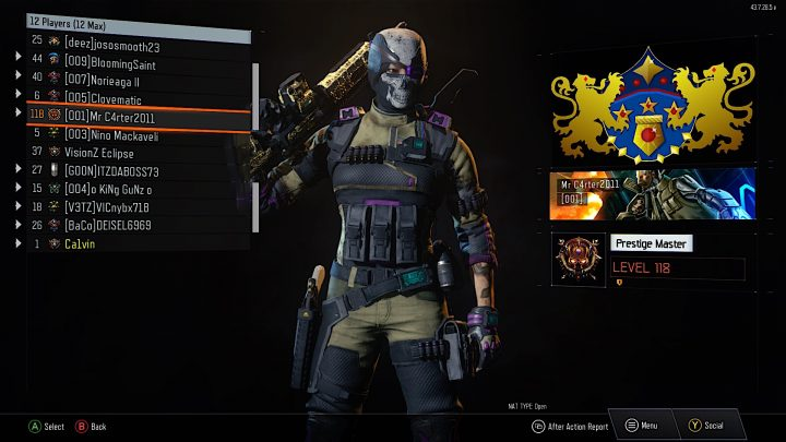 With Black Ops 3 updates you can now Prestige above level 100, all the way up to 1,000.