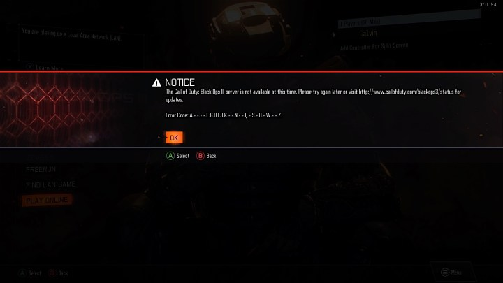 Check the Black Ops 3 Server Status