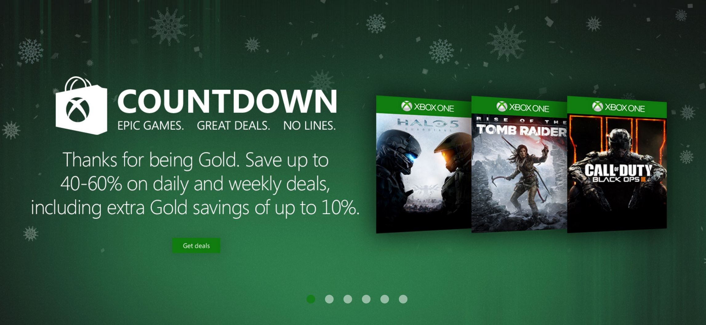 Get free games; Save up to % on games in the Xbox Store; On Xbox One, it's even.