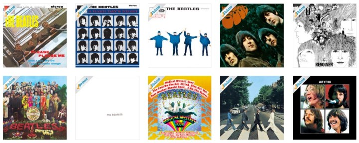 The Beatles Spotify Apple Music Amazon Albums