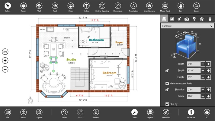 8 best windows 10 apps for digital pens for Interior design app online