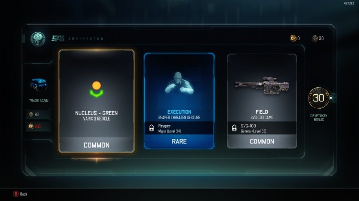 Use Cryptokeys for Supply Drops.
