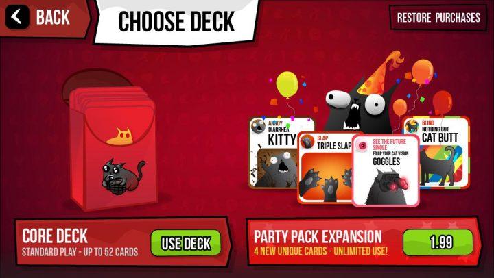 Exploding Kittens App - 2