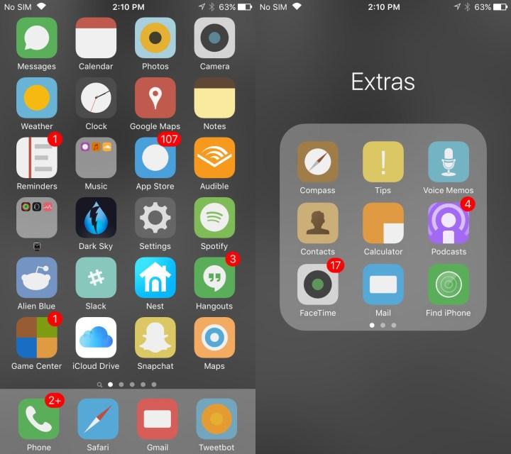 Flat6 iOS Theme